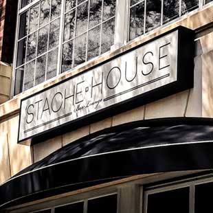 'Stache House Street Sign