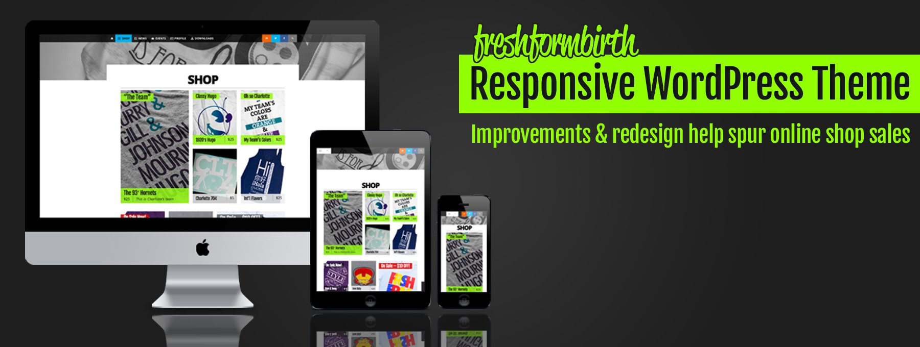Fresh From Birth Responsive Theme